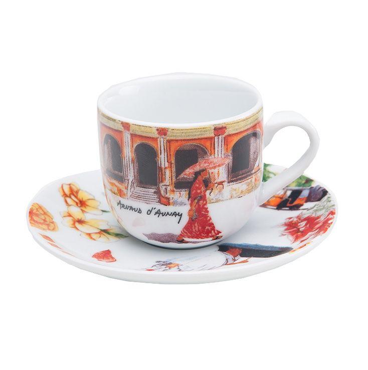 Xícara Café Caminho da Índia - jg com 6