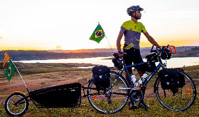 Bike Trailer - Acessório Bolsa para Viagem Cicloturismo