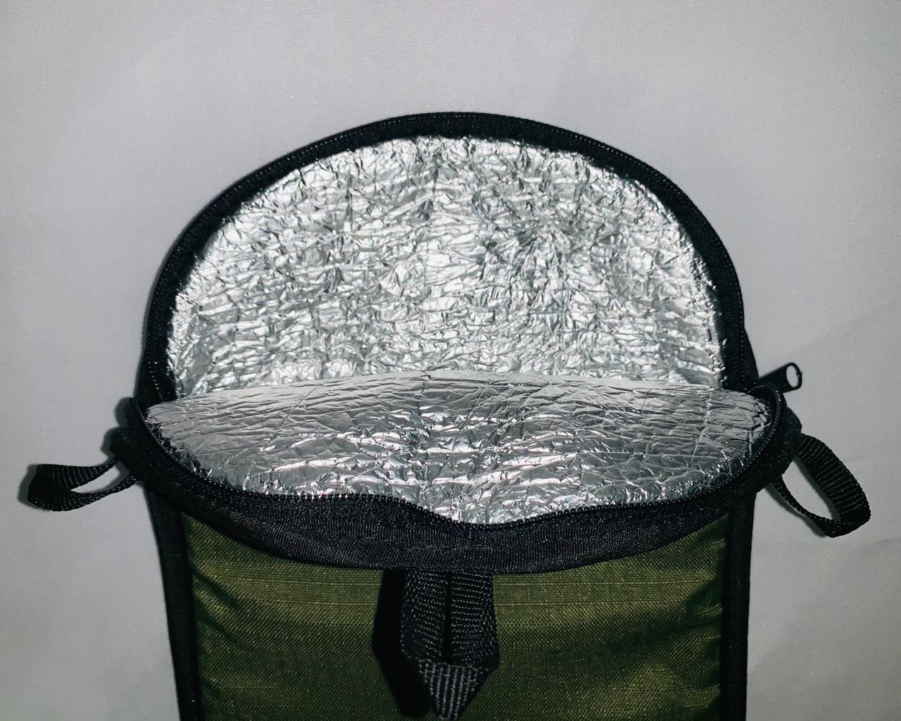 Bolsa Capa Térmica + Refil + Alças Mochila Hidratação