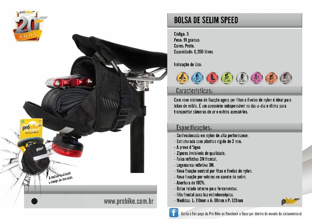 Bolsa de Selim Speed