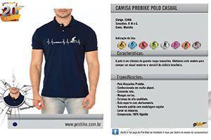 Camisa Próbike Pólo Casual