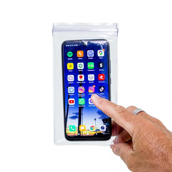 Capa de Celular Touch Screen a prova d' água