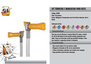 Kit Torneira para Refil Hydrat Pro