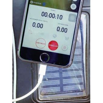 Mochila Hidrat Titanium com carregador Solar e refil 2,5 litros