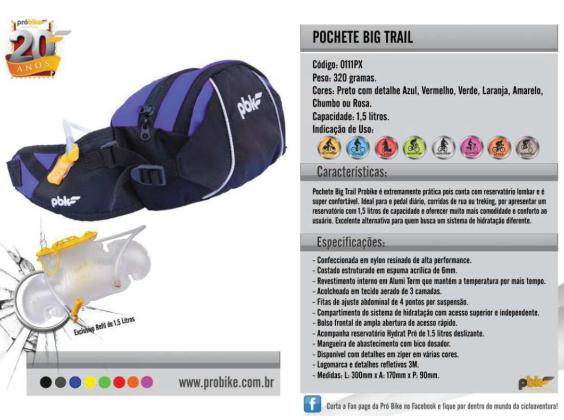 Pochete Hydrat Big Trail Probike