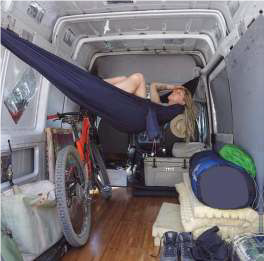 Rede E Tenda Bike Camping Tática Confort Promoto