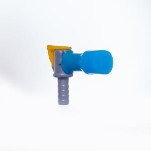 Torneira com bico silicone  para Refil de Hidratação