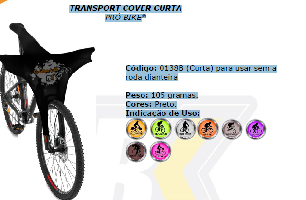 Transport Cover Curta Probike