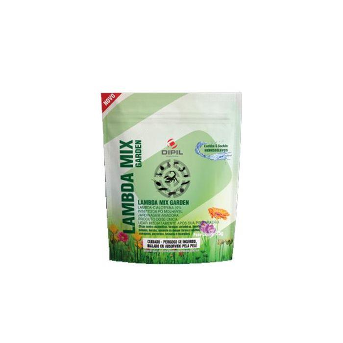 Inseticida Pó Lambda Mix Garden - 25 gramas