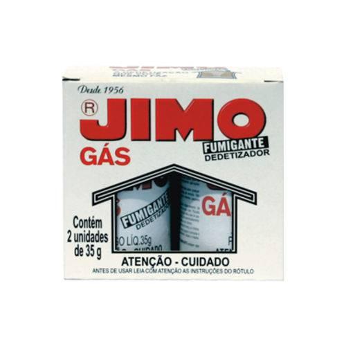 Jimo Gás Fumigante com 2 unidades de 35 gramas