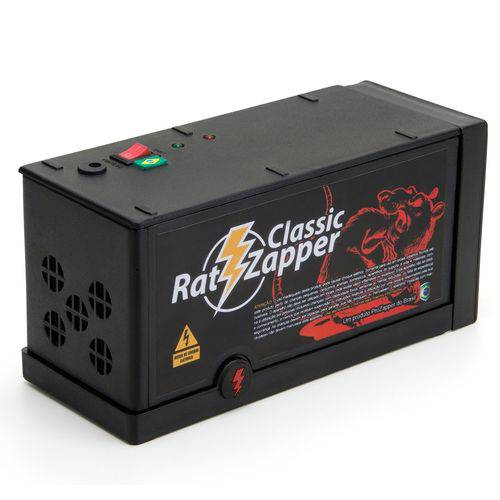 Ratoeira Elétrica Rat Zapper - Bivolt