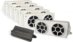 Repelente Eletrônico de Pombos - RPE 06 - Bivolt