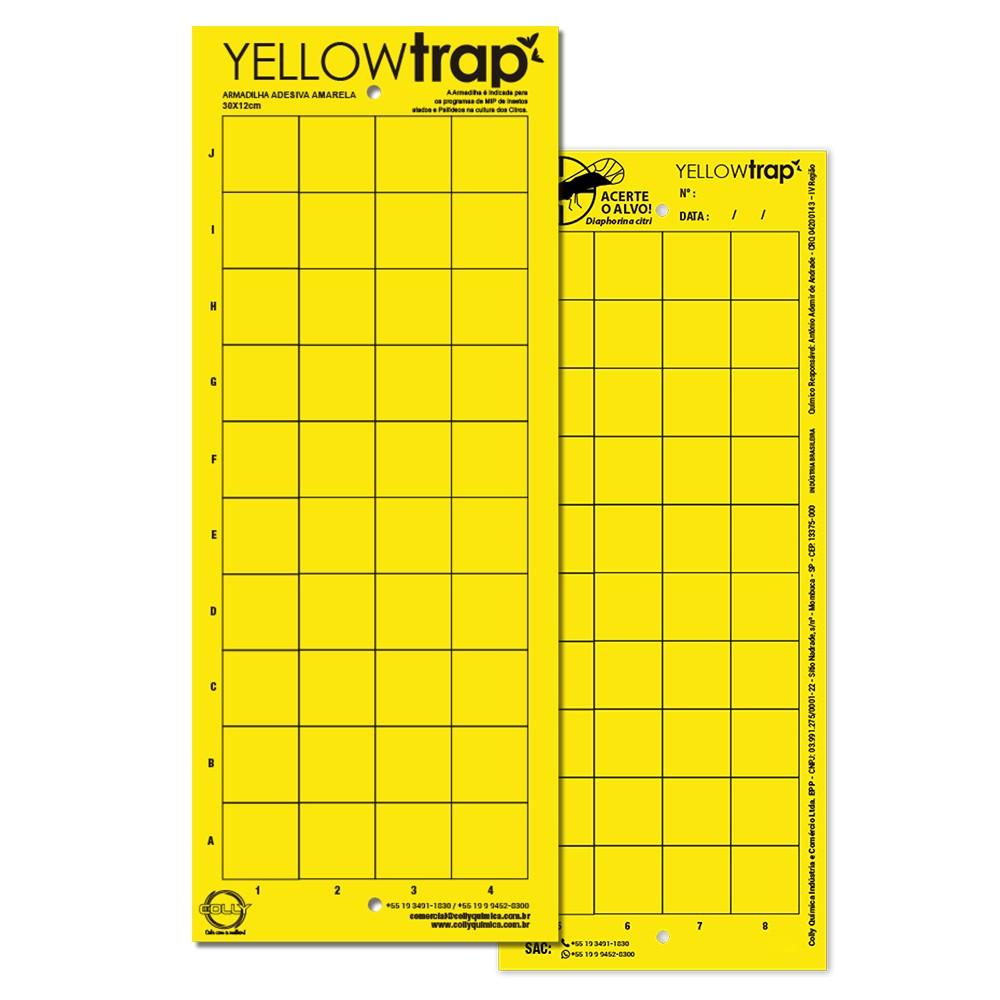Yellow Trap Armadilha Adesiva Amarela