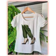 T-shirt Fashion Manga Vazada