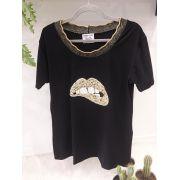 T-shirt Golden Mouth