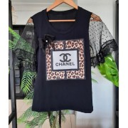 T-shirt Luxo Chanel