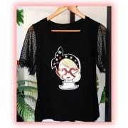 T-shirt Luxo Menina <3