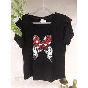 T-shirt Minnie Laço