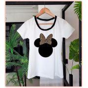 T-shirt Minnie Onça