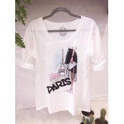 T-shirt Paris Bordada
