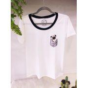 T-shirt Pug Bolso
