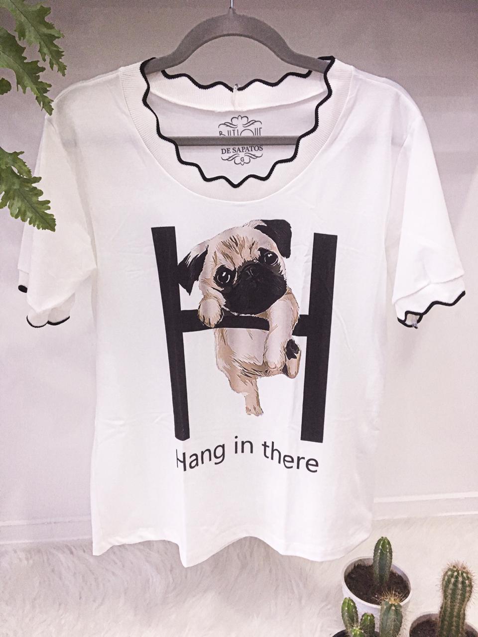 T-shirt Pug H