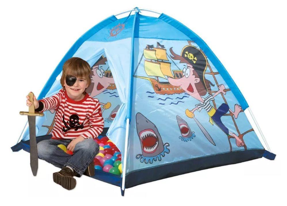 Barraca Infantil Cabana Toca Esconderijo Pirata DM Toys Novo