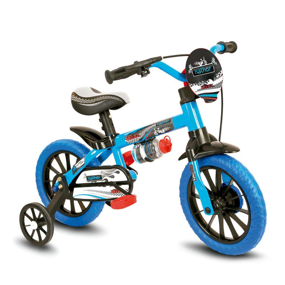 Bicicleta Bicicletinha Infantil Aro 12 Assento Em Pu Veloz
