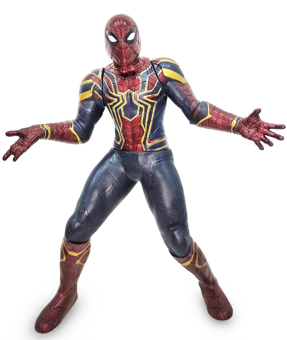 Boneco Homem Aranha Iron Spider Gigante 51cm Infinity War