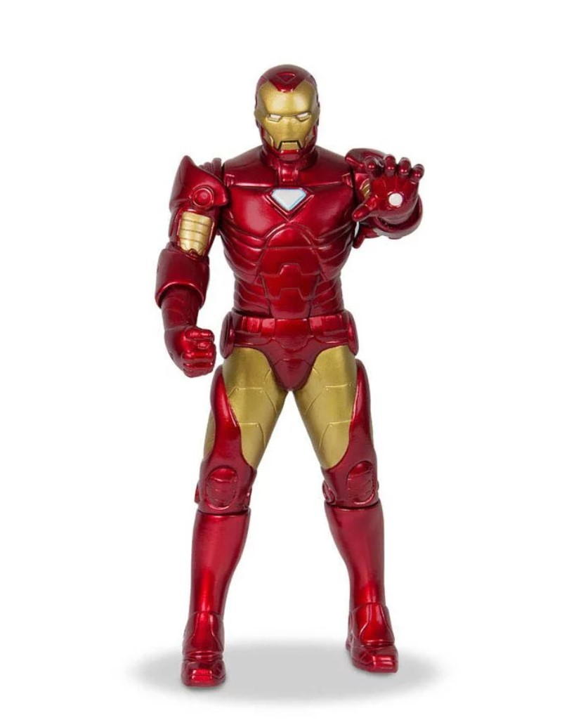 Boneco Homem De Ferro Iron Man 48cm Grande Mimo Brinquedos