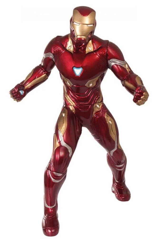 Boneco Homem De Ferro Iron Man Gigante 51cm Infinity War