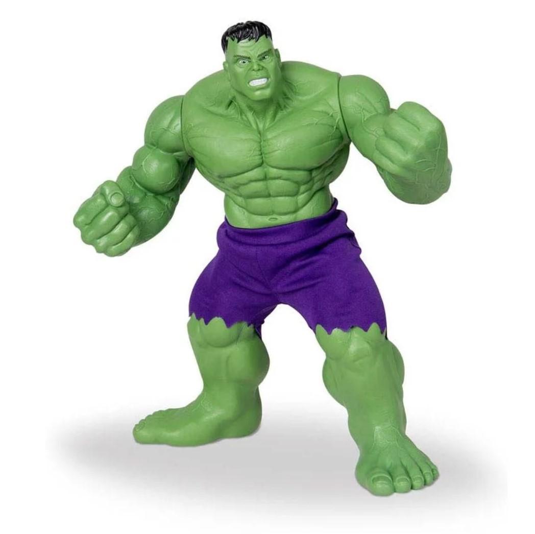 Boneco Hulk Comics Gigante 45cm Marvel Vingadores Mimo