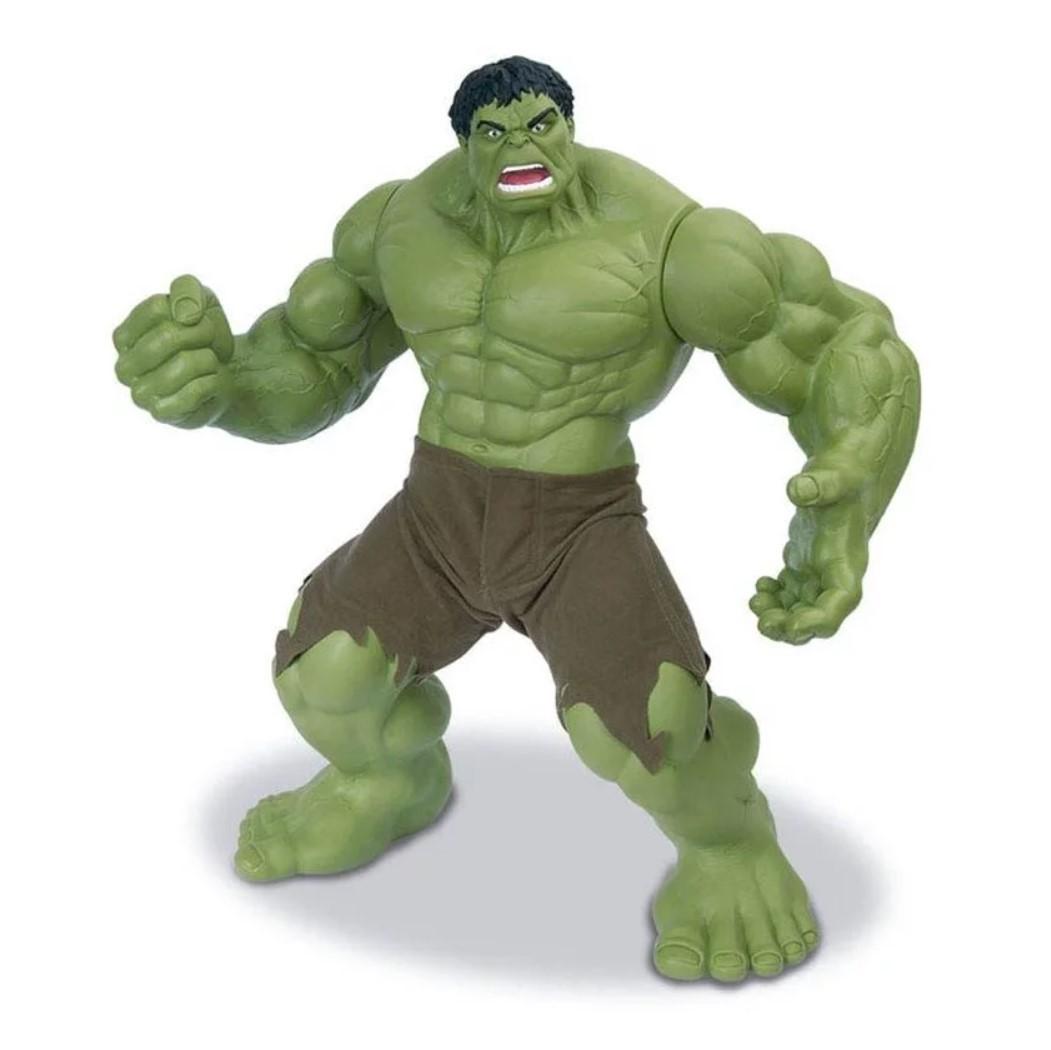 Boneco Hulk Verde Gigante 51cm Avengers Mimo Premium