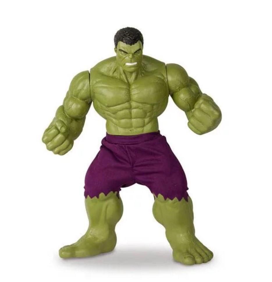 Boneco Hulk Verde Revolution Grande Marvel Mimo Toys