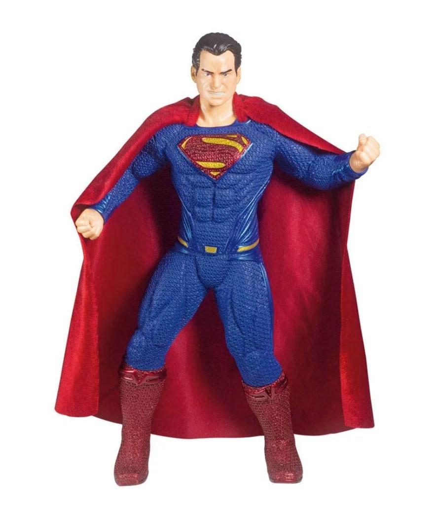 Boneco Superman Homem De Aço Premium 51cm Mimo Brinquedos