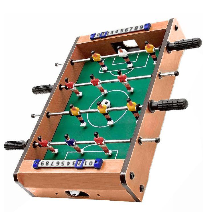 Mini Mesa Jogo Pebolim 12 Jogadores Totó Super Craque