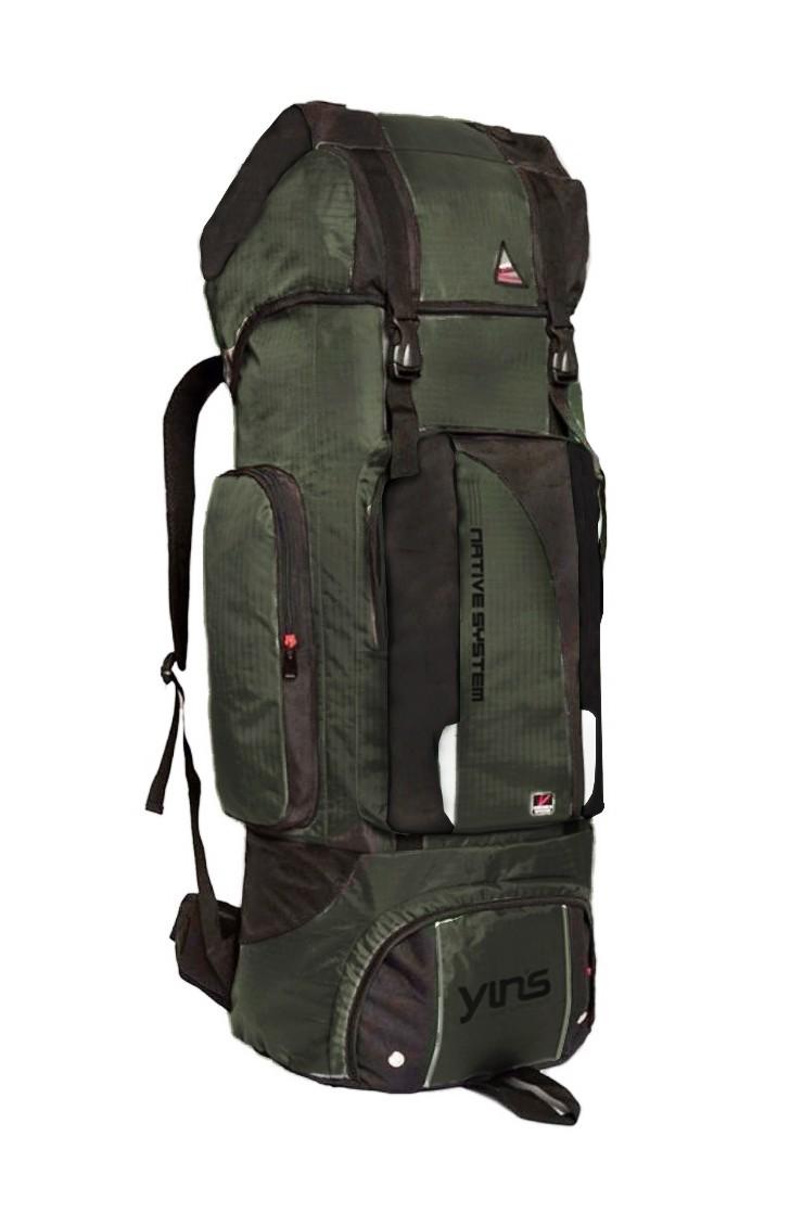 Mochila Camping Esporte 80L Viagem Pesca Resistente 10575