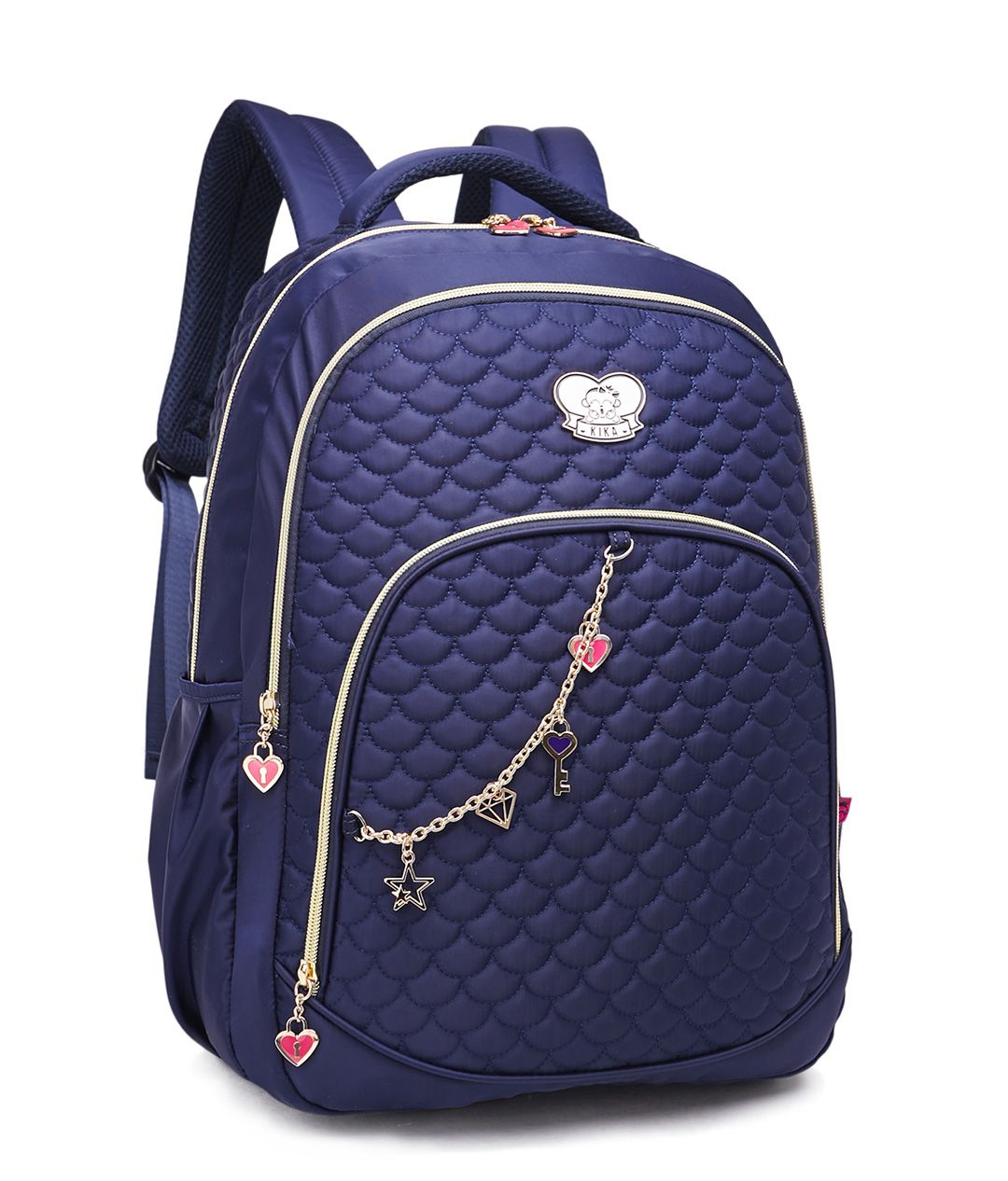 Mochila Escolar Faculdade Feminino Kika K259 Juvenil Azul