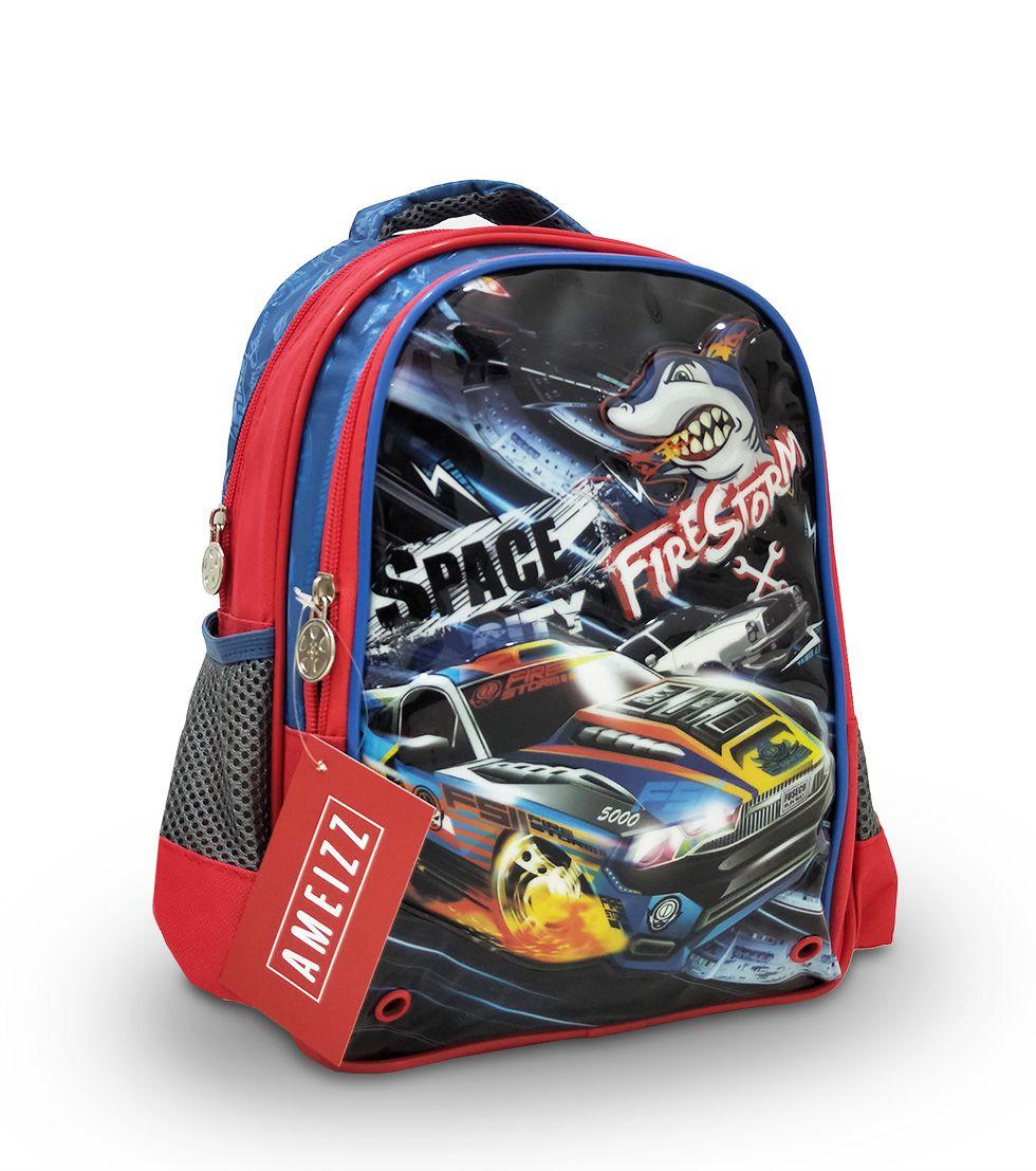 Mochila Escolar Infantil Space Shark Firestorm Shark Tam P