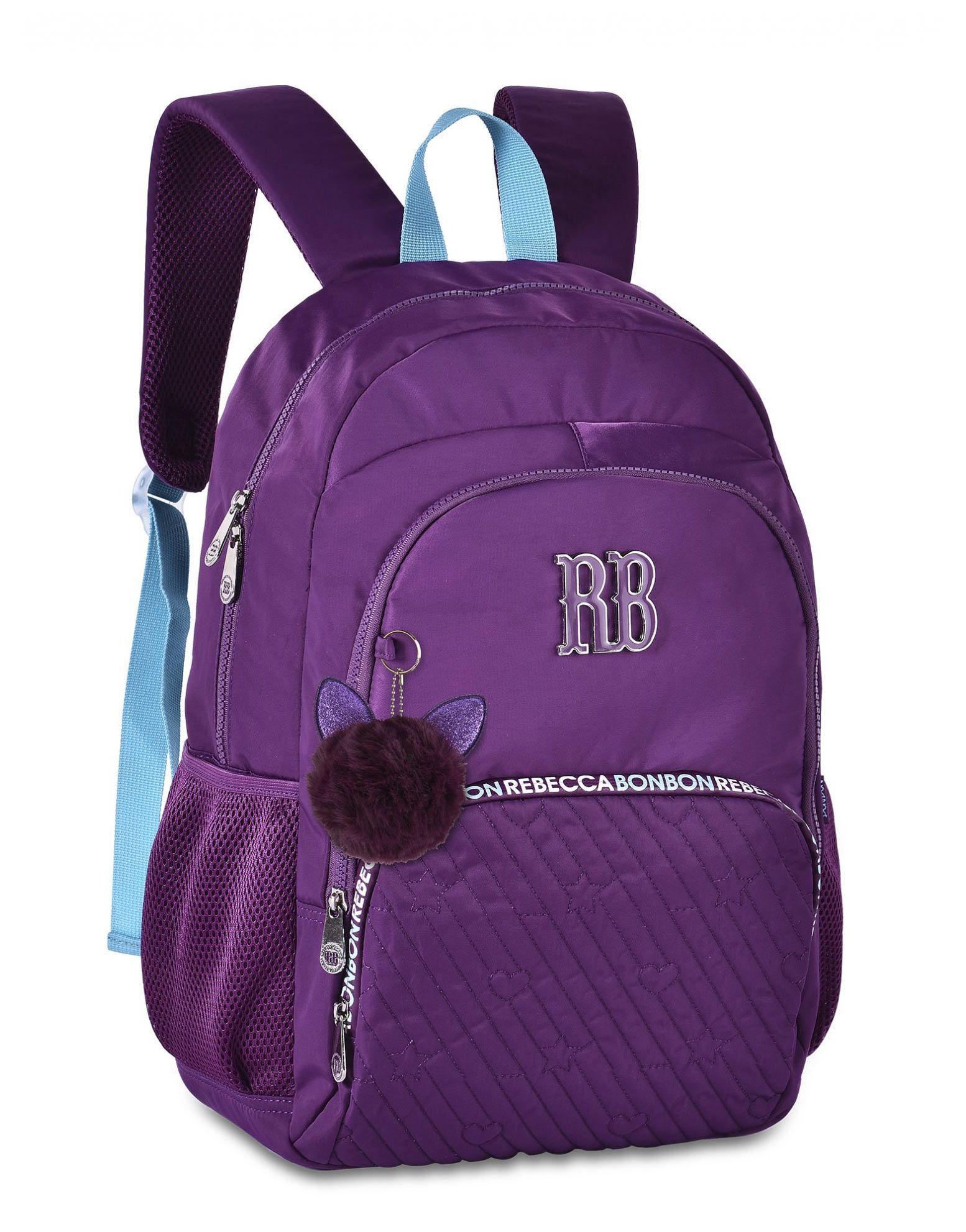 Mochila Escolar Universitária Juvenil Rebecca Bonbon RB2060