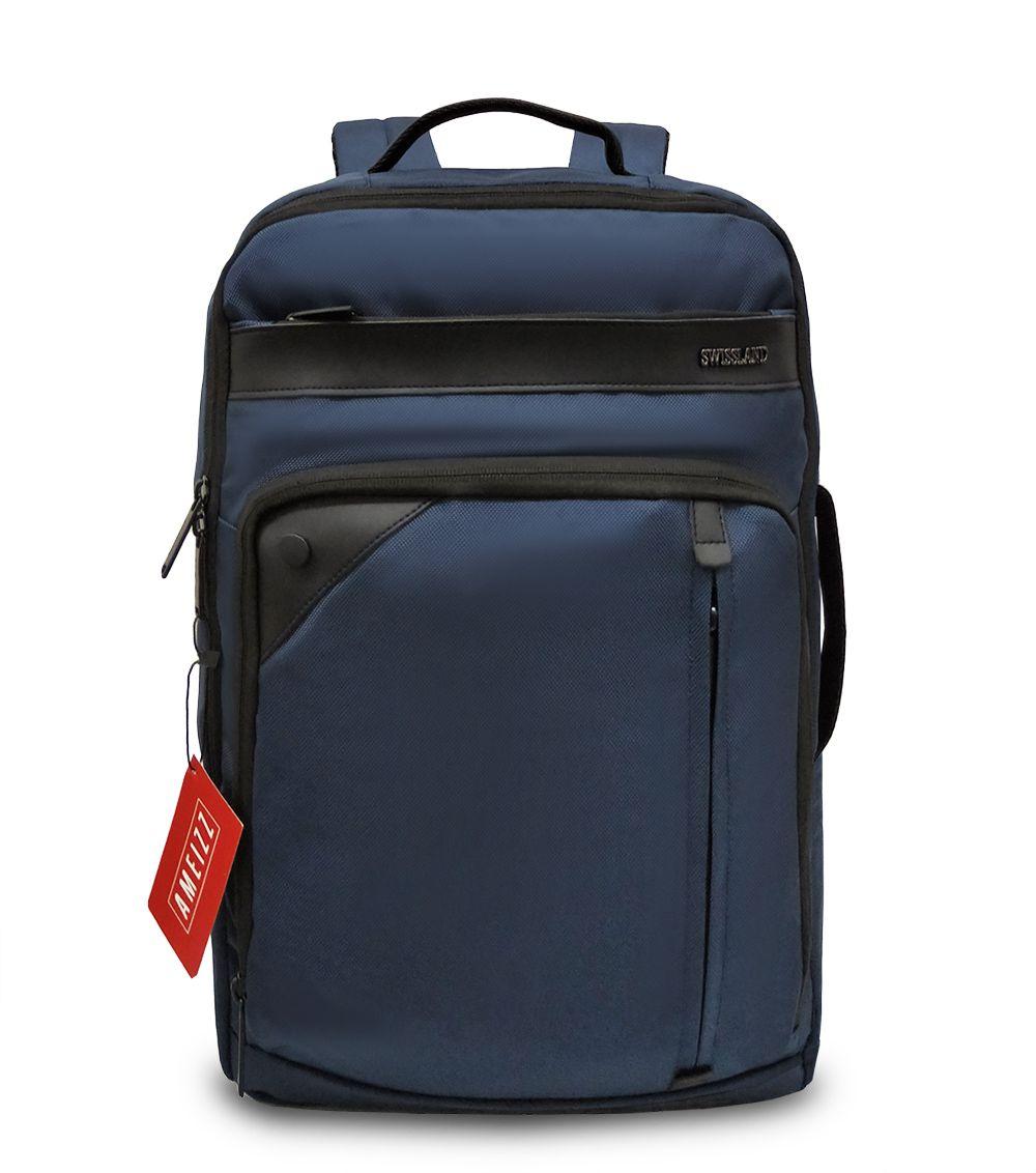 Mochila Executiva Notebook Reforçada Swissland 28040 Azul