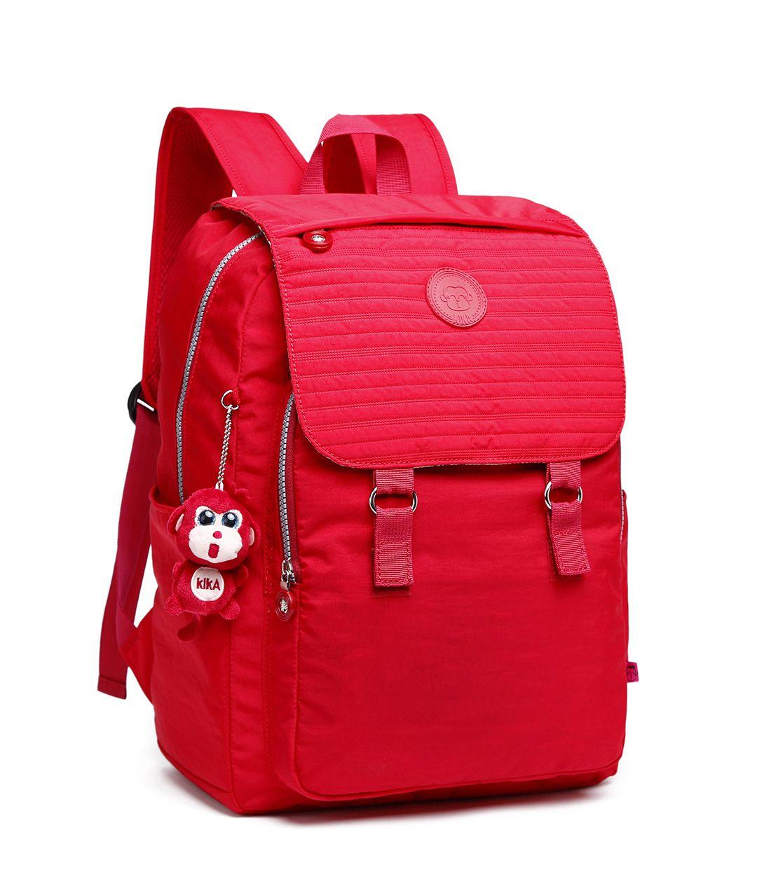 Mochila Feminina Kika Escolar Laptop Fashion KK252 Vermelho