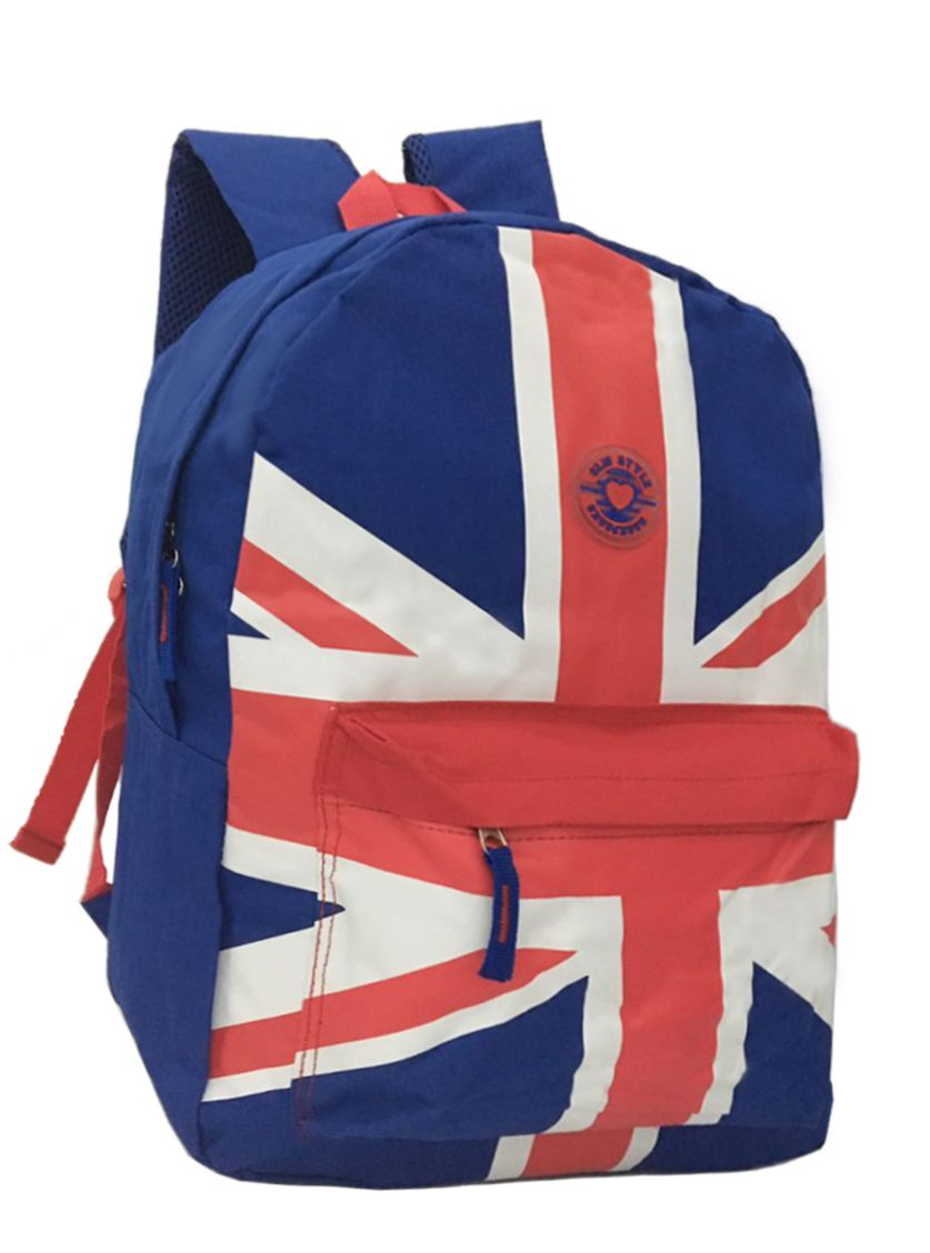 Mochila Feminino Juvenil Clio Girl 6428 Bandeira Inglaterra
