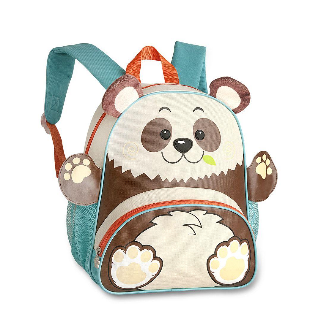 Mochila Infantil Animal Zoo Clio Pets Panda 9479 Pequeno
