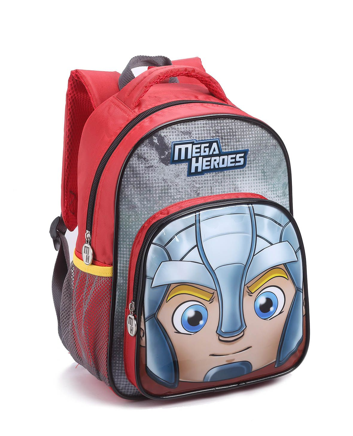 Mochila Infantil Masculino Mi14486 Mega Heroes Vermelho