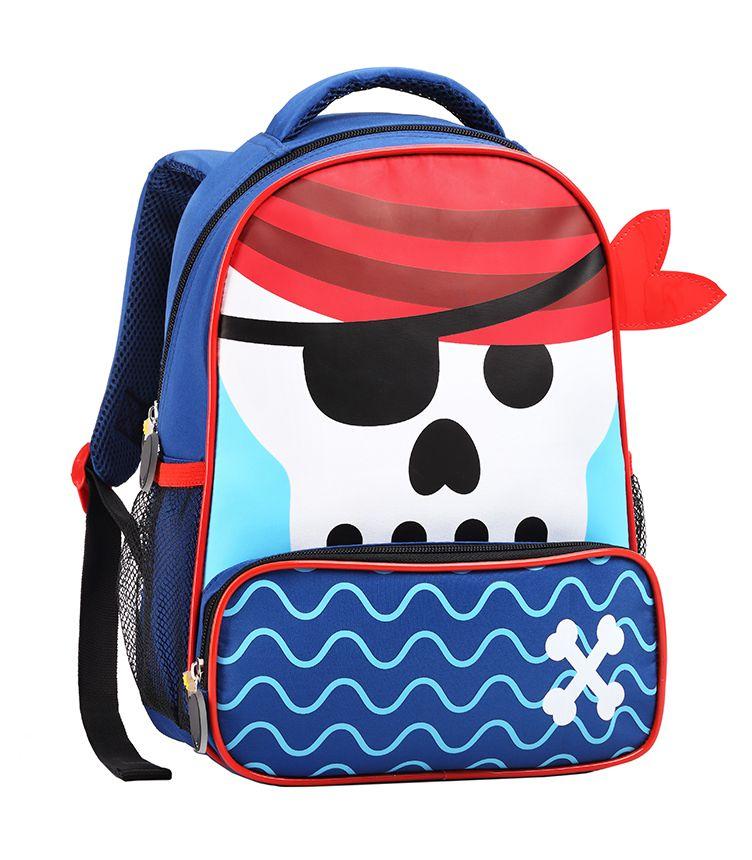 Mochila Infantil Passeio Escolar Tam P Seanite 13874 Pirata