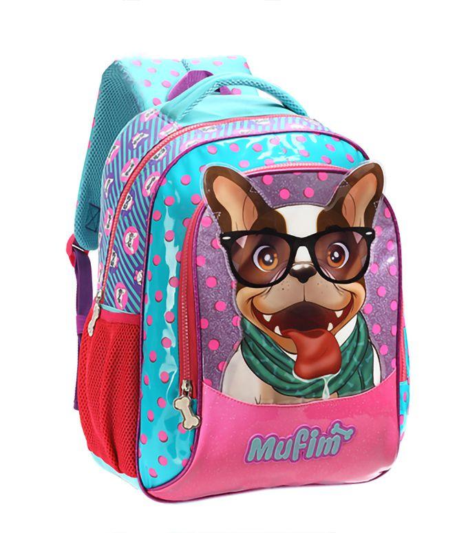 Mochila Infantil Pet Cachorro Mufim Feminina Original Grande