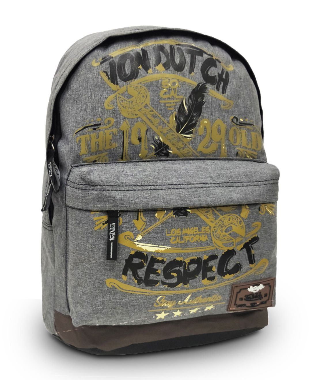 Mochila Juvenil Escolar Backpack Von Dutch 182609 Original