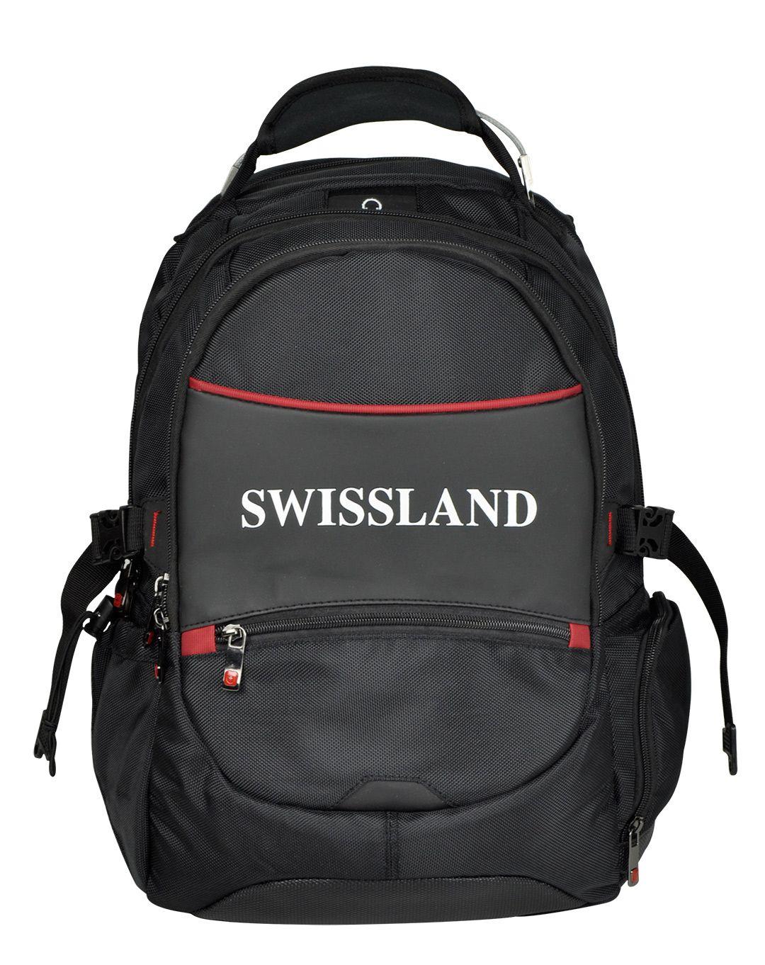Mochila Notebook Executiva Faculdade Swissland SL28002 Preta