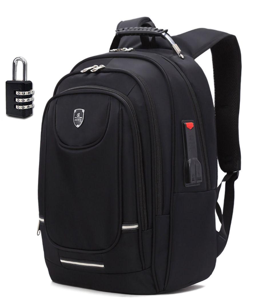 Mochila Notebook Laptop Universitária Executiva Com Cadeado